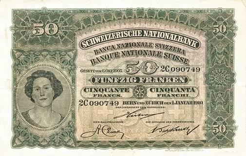 50 francs Type 1910 Pick##5