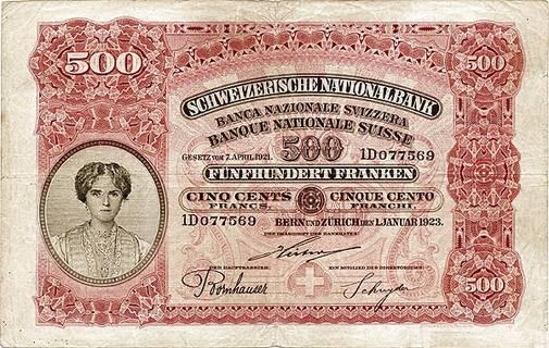500 francs Type 1923 Pick##29