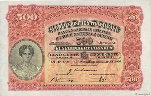 500 francs Type 1928 Pick##36