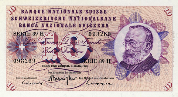 10 francs Type 1955 Pick##45