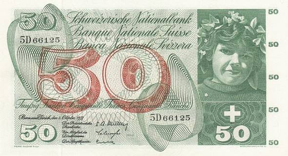 50 francs Type 1955 Pick##47