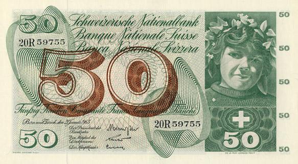 50 francs Type 1961 Pick##48