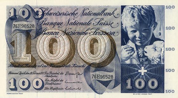 100 francs Type 1956 Pick##49