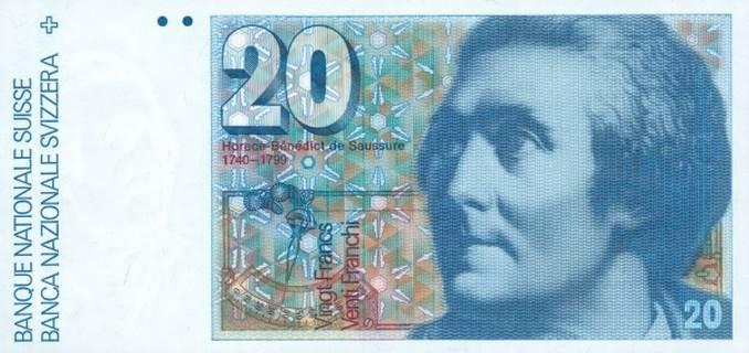 20 francs Type 1978 Pick##55