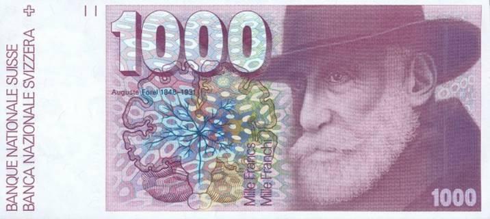1000 francs Type 1977 Pick##59