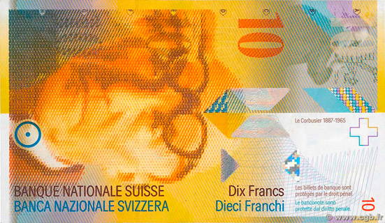 10 francs Type 1995 Pick##66
