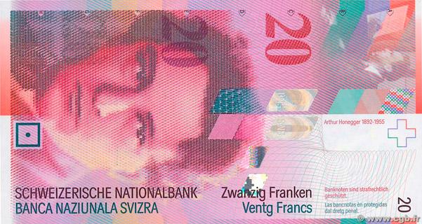 20 francs Type 1994 Pick##68