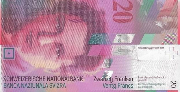 20 francs Type 2003 Pick##69