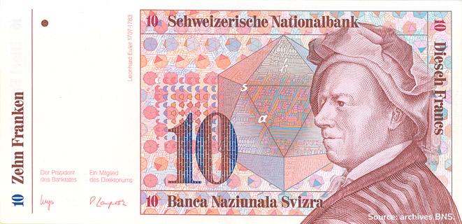 10 francs Type 1983 non émis Pick##60