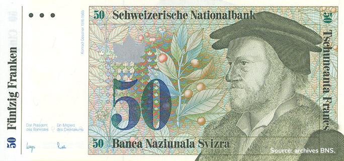50 francs Type 1984 non émis Pick##62