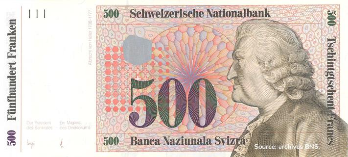500 francs Type 1985 non émis Pick##64