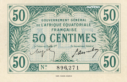 50 centimes Type 1917 Pick##1