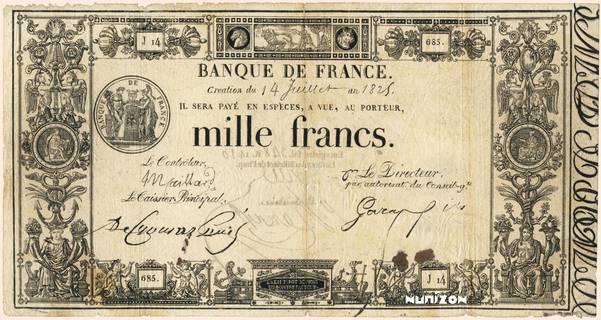 1000 francs Type 1817 Définitif Pick##26
