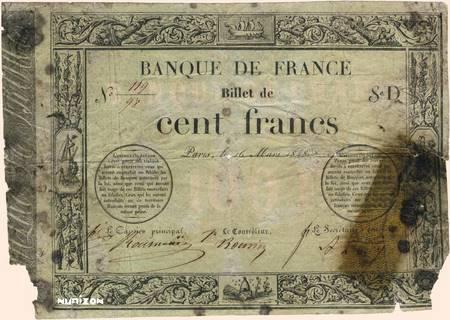 100 francs Type 1848 Provisoire Pick##44