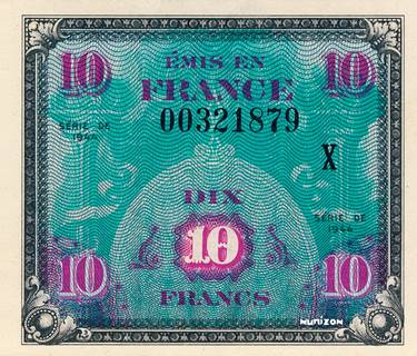 10 francs Drapeau Type 1944 Pick##116