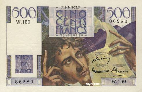 500 francs Type 1945 Chateaubriand Pick##129