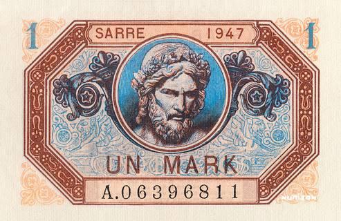 1 Mark Sarre Type 1947 Pick##3