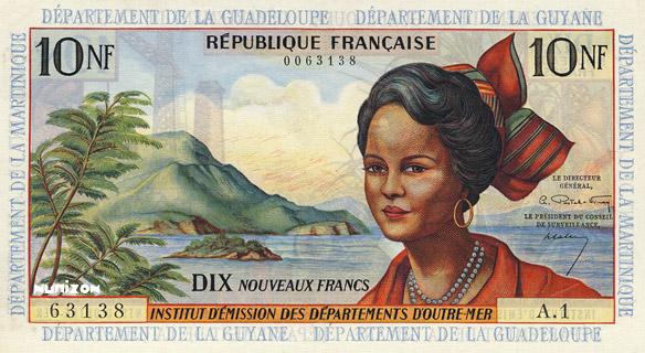 10 nouveaux francs Type 1962 Pick##5