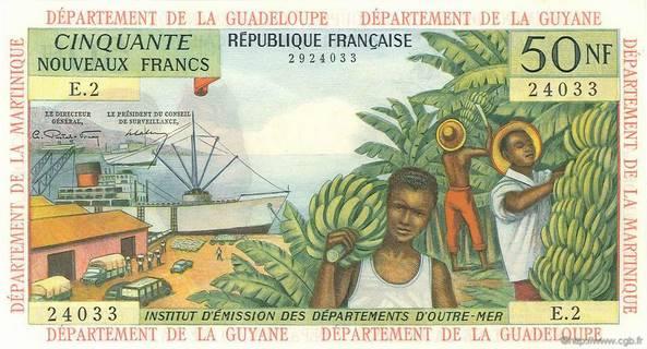 50 nouveaux francs Type 1962 Pick##6