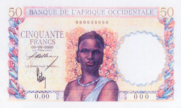 50 francs Type 1936 Essai Pick##NA