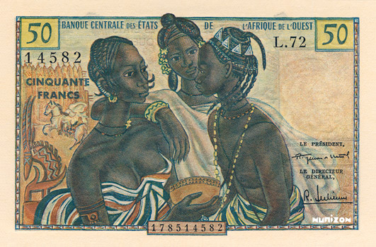 50 francs Type 1959 Pick##1