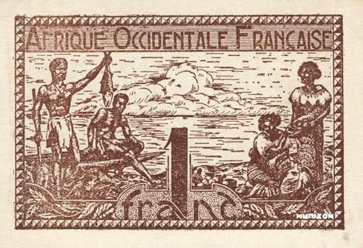 1 franc Type 1944 Pick##34
