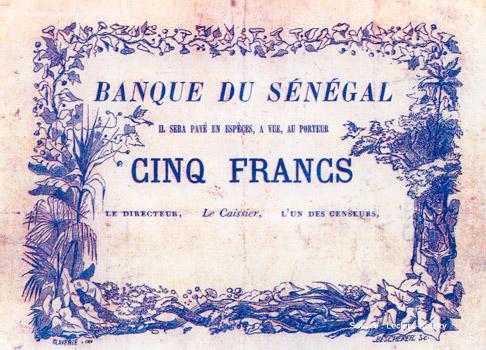 5 francs Type 1872 provisoire Pick##NA