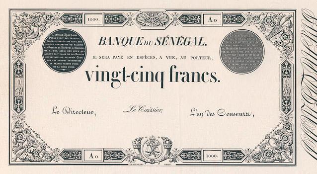 25 francs Type 1854 Pick##PA2
