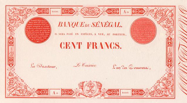 100 francs Type 1874 Pick##PA3
