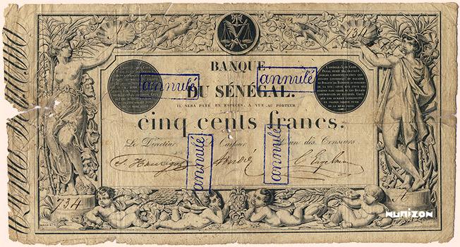 500 francs Type 1874 Pick##PA4