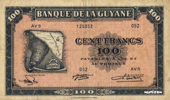 100 francs Type 1942  (US) Pick##13