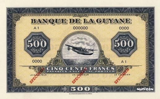 500 francs Type 1942  (US) Pick##14