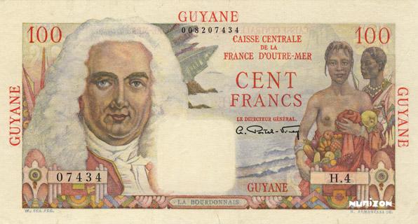 100 francs La Bourdonnais Type 1946  Pick##23