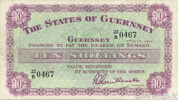 10 shillings Type 1945-1966 Pick##42