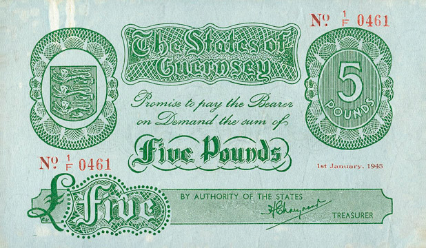 5 pounds Type 1945 Pick##33B