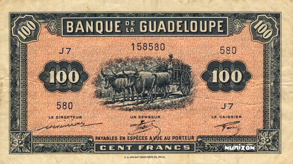 100 francs Type 1942 (US) Pick##23
