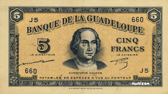 5 francs Type 1942 (US) Pick##21
