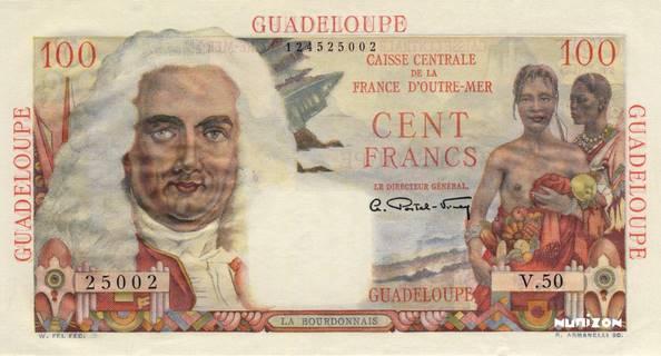 100 francs La Bourdonnais Type 1946  Pick##35
