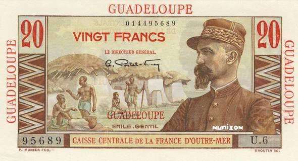 20 francs Émile Gentil Type 1946  Pick##33