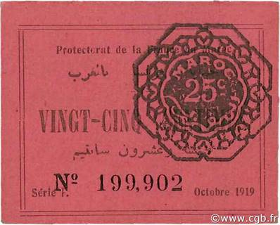 25 centimes Type 1919  Pick##4