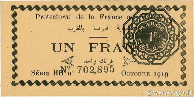 1 franc Type 1919  Pick##6