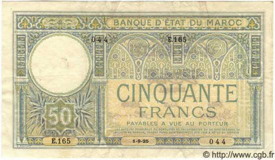 50 francs Type 1920-1928  Pick##13