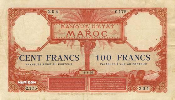 100 francs Type 1920  Pick##14