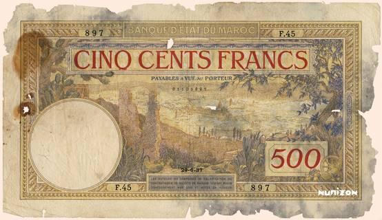 500 francs Type 1923  Pick##15