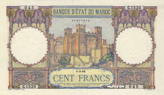 100 francs Type 1928  Pick##20