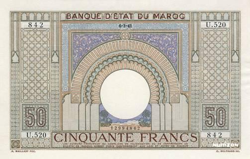 50 francs Type 1935  Pick##21
