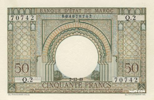 50 francs Type 1949  Pick##44