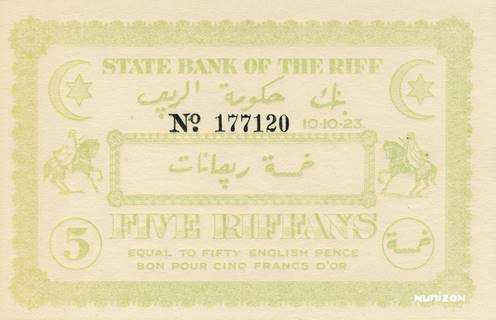 5 Riffans Type 1923  Pick##R2