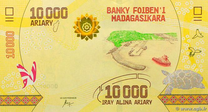 10000 Ariary Type 2017 Madagascar Pick##103