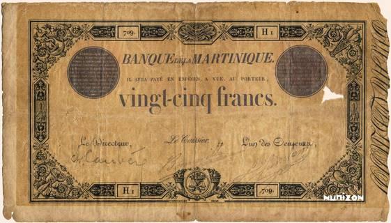 25 francs Noir et Bleu Type 1852  Pick##7a